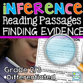 Making Inferences 2nd 3rd Grade Reading Passages ~ Finding Evidence