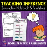 Making Inferences Reading Strategy Unit: Notes, Practice, & Assessment