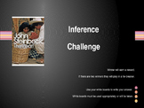 Inference Review Game for The Pearl by John Steinbeck (Pow