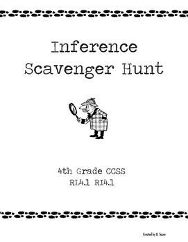 Inference Scavenger Hunt