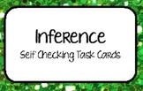 """""""Inference"""" Self Checking Task Cards for Independent Centers"""