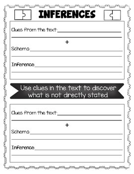 Inference Sheets