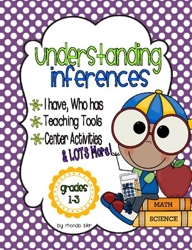 Inference Skills - Packed with great hands on activities a