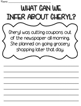 Inference Stories