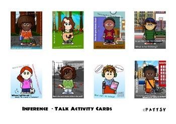 Inference - Talk Activity Cards