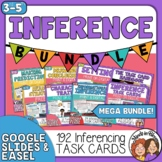 Making Inferences Task Card Bundle with Digital Options fo