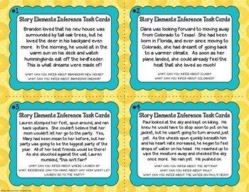 Inference Task Card Bundle