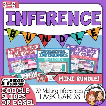 Inference Task Card Mini-Bundle