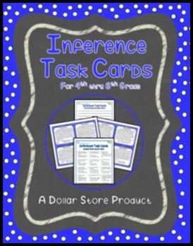 Making Inferences Task Cards (Grades 4, 5, and 6)