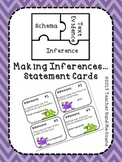 Inference Task Cards 3rd, 4th, 5th grade