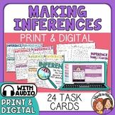 Making Inferences Task Cards    Google Digital    Inferenc