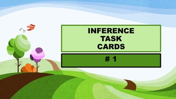 Inference Task Cards - #1