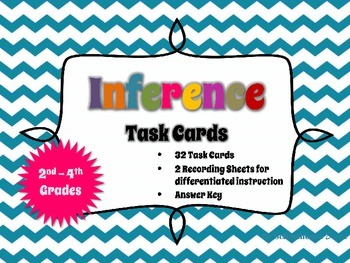 Inference Task Cards: 2nd - 4th