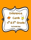 Inference Task Cards – 32 multiple choice task cards for 4