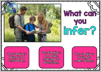 Inference Boom Cards and Task Cards