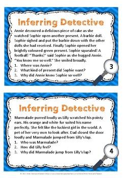 Inference Task Cards - Bundle 2
