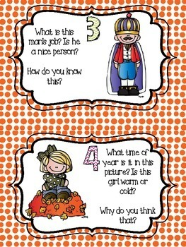 Inference Task Cards - Differentiated!