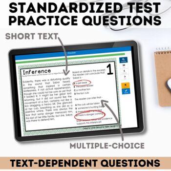 Inference Task Cards - Digital Boom Cards