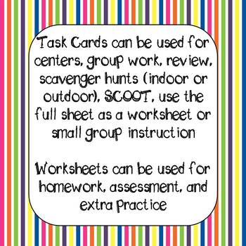 Inference Task Cards and Printables Grades 3 -5