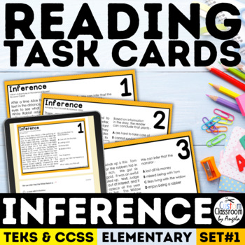 Inference Task Cards Grade 3-5