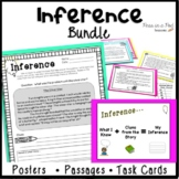 Inference Task Cards 3rd 4th 5th Making Inferences Reading Passages