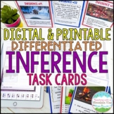 Inference Task Cards for Inferencing Reading Skill   Distance Learning   Google