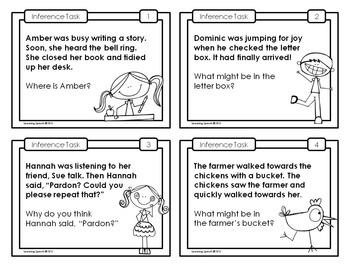 Inference Task Cards: Set 2