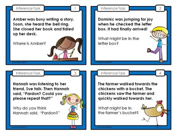 Inference Task Cards: Set 2
