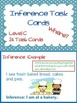 Inference Task Cards-Where?-3 Levels-for Autism,Special Ed. or Early Learners