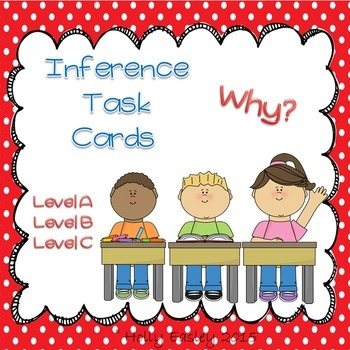 Inference Task Cards-Why?-3 Levels-for Autism,Special Ed. or Early Learners