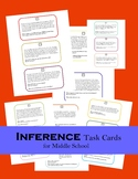 Inference Task Cards for Middle School
