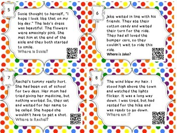 Inference Task Cards for Setting