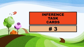 Inference Task Cards using Context Clues #3
