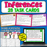 Making Inferences Task Cards | PDF and Digital | Distance