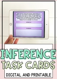 48 Inference & Character Trait Task Cards (With pictures a