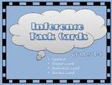 Inference Tasks Cards grades 3-5