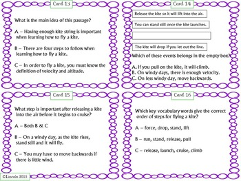 Literature Stations - Inference, Text Evidence, Main Idea,  Poetry & More!