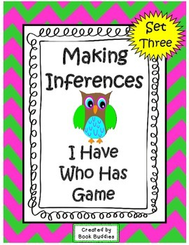 Inference I Have Who Has Clues