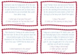 Inference Text Task Cards - Differentiated - Guided Reading