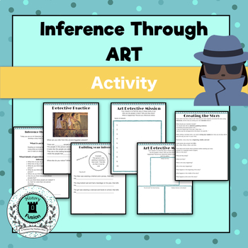 Inference Through Art Packet-Great for struggling readers!