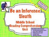 Inference Unit - Reading Comprehension Skills for Middle S