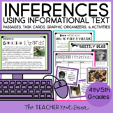 Inferences Using Informational Text: 4th and 5th Grade | Inferences