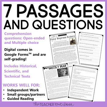 Making Inferences Using Informational Text: 4th and 5th Grade | Inferences