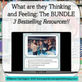 What are they Thinking and Feeling BUNDLE!Distance Learnin