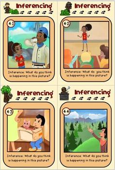 Inference - a fun board game and task cards