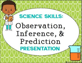 Inference and Observations In Science - Science Skills Presentation