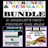 Inference and Summary BUNDLE for Older Students:  SLO Read