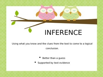 Inference definition owls