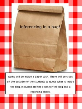 Inference in a Bag