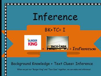 Inference mnemonic poster
